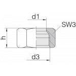 Гайка 24-N-S14