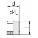 Втулка 24-RS-10,5-BS