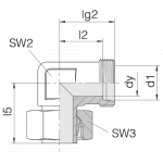Соединение регулируемое 24-SWE-L15