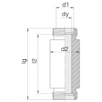 Соединение приварное 24-WDBHS-S30-C00
