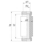 Соединение приварное 24-WDBHS-S14-C00