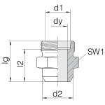 Соединение приварное 24-WDS-S25-C00