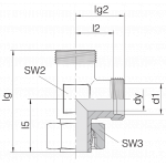 Соединение регулируемое 24-SWL-L35