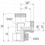 Соединение регулируемое 24-SWL-S6