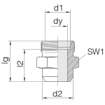 Соединение приварное 24-WDS-L8-C00
