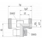 Соединение регулируемое 24-SWT-S25