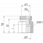 Соединение переходное 24-S-L42-IM48