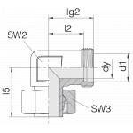 Соединение регулируемое 24-SWE-S8