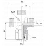 Соединение с гайкой 24-SWOK-L8