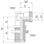 Соединение переборочное 24-BHELN-S30