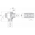 Соединение поворотное 24-BCT-S30-G11/4E-P