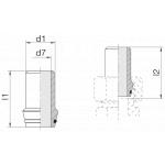 Ниппель приварной 24-WDNPSO-16x2-C10