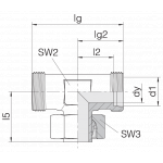 Соединение регулируемое 24-SWT-L35