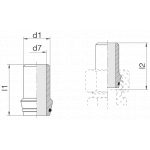 Ниппель приварной 24-WDNPSO-30x3-C10