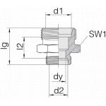 Соединение трубное 24-S-L12-L6