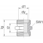 Соединение трубное 24-S-L10