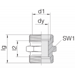 Соединение трубное 24-S-L12