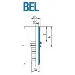 Фитинг  BEL 15L 13