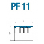 Муфта обжимная PF 11 13