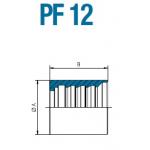 Муфта обжимная PF 12 05