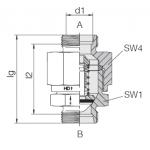 Обратный клапан высокого давления 24-VNROHP