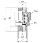 Обратный клапан высокого давления 24-VNROPTHP
