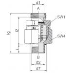 Обратный клапан высокого давления 24-VNROTPHP
