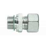 Метрическая - цилиндрическая резьба - мягкое уплотнение wd - с накидной гайкой типа SC
