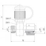 Измерительные муфты с 24° уплотнительные конусные фитинги в сочетании с 24° трубные соединения