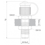 Контрольные точки Schottausführung (M 16 x 2)