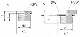 Заглушка GP-PLIH-M22E-C21