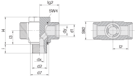 Соединение поворотное 24-BCT-L42-G11/2E-P