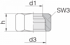 Гайка 24-N-L15