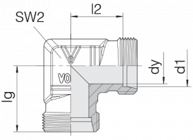 Соединение трубное 24-E-L28