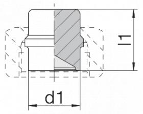 Заглушка 24-PLB-L/S10