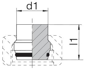 Заглушка 24-PLO-L/S8