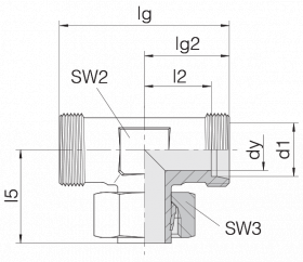 Соединение регулируемое 24-SWT-L8