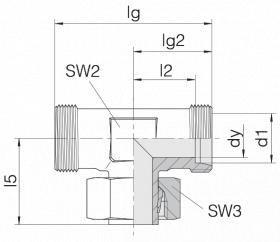 Соединение регулируемое 24-SWT-S8