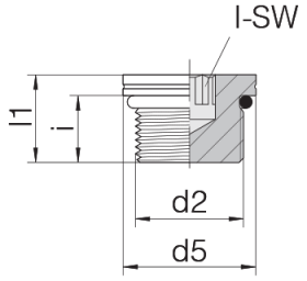 Заглушка GP-PLIH-M10F-C21