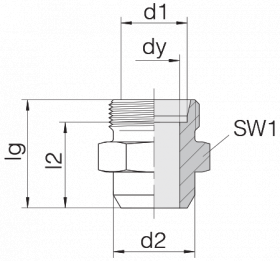Соединение приварное 24-WDS-L12-C00