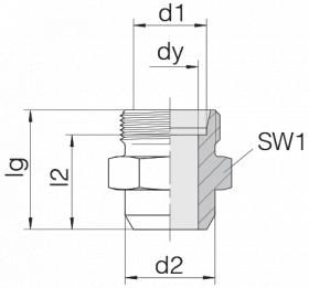 Соединение приварное 24-WDS-S30-C00
