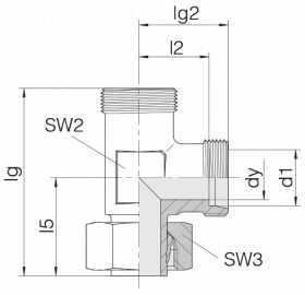 Соединение регулируемое 24-SWL-L15