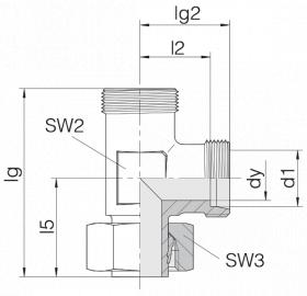 Соединение регулируемое 24-SWL-S16