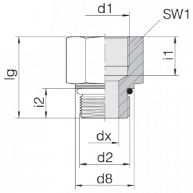 Переходник GP-SDS-M27F-IM27