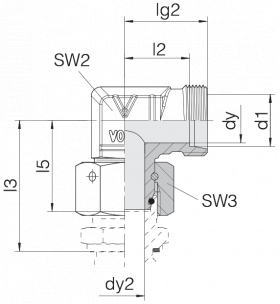 Соединение с гайкой 24-SWOE-S12