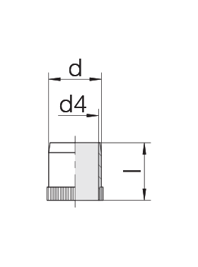 Втулка 24-RS-4,5-BS