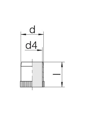 Втулка 24-RS-4-BS