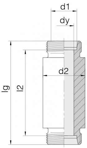Соединение приварное 24-WDBHS-L12-C00